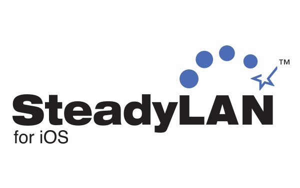 SteadyLAN for iOS Logo;